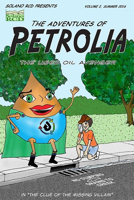 Petrolia Comic Volume 2 cover