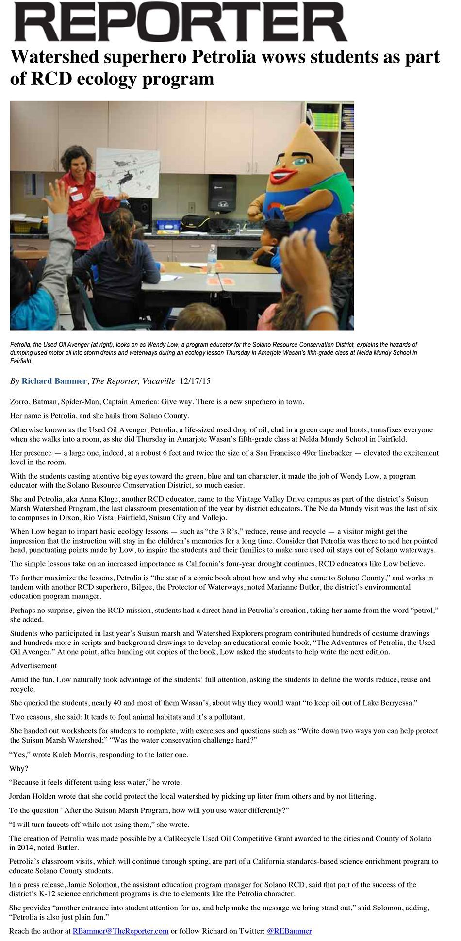 Reporter petrolia article-smlr