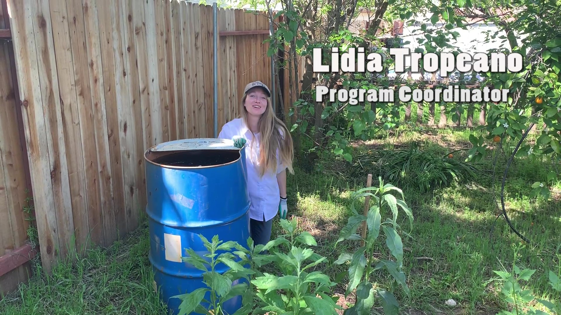Make a Watershed Garden with Lidia