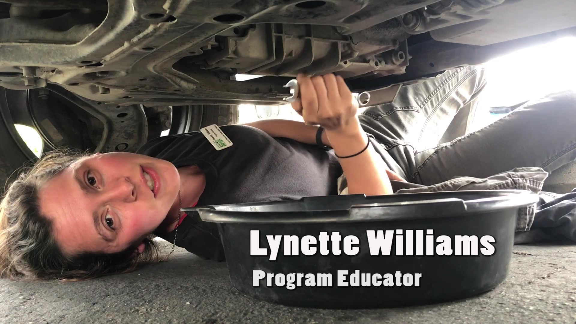 Recycle used oil with Lynette